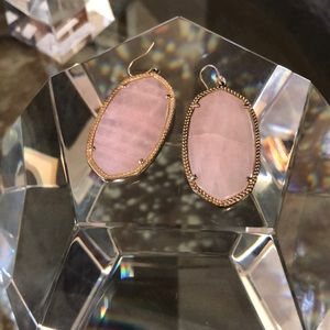 Kendra Scott Danielle Earrings Rose Quartz